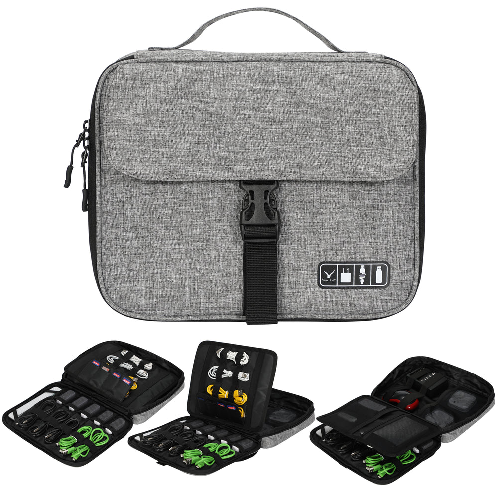 Multilayer Electronic Organizer Travel Bag