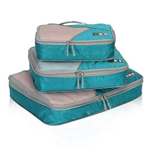 Travel Compression Cubes Expandable Packing Organizer 3 Piece Set