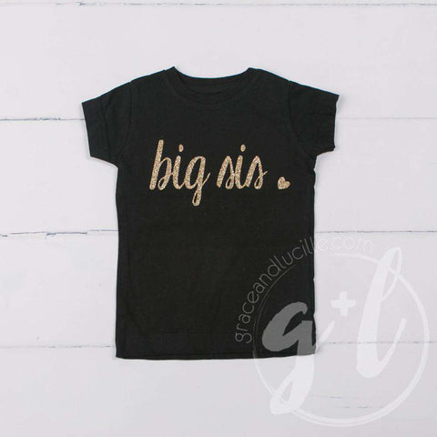 Black Tee Shirt with
