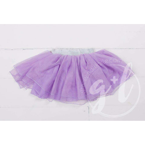 Bejeweled Purple Tutu