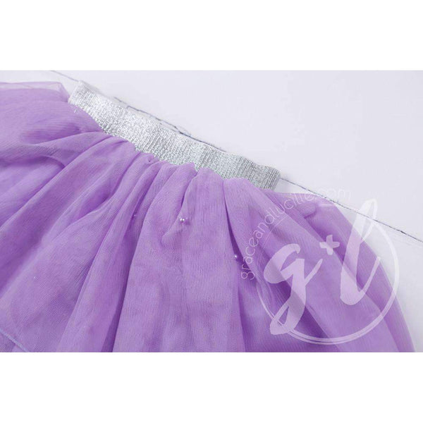 Bejeweled Purple Tutu - Grace and Lucille