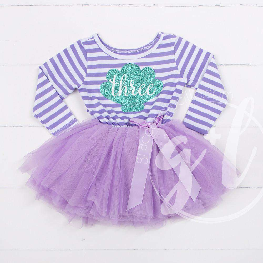 3rd Birthday Dress Outfit, Tutu, Princess Dress, Party Outfit ...
