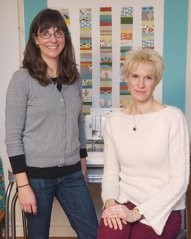 My Lil' Bean Q&A: Beth and Lisa from Organic Quilt Co.