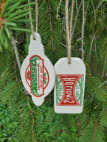 A2 - Holiday Greeting Ornament