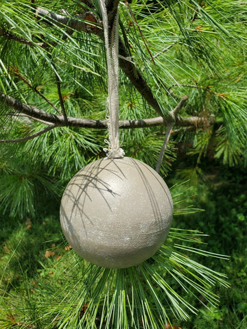 A2 - Wooden Ball Ornament