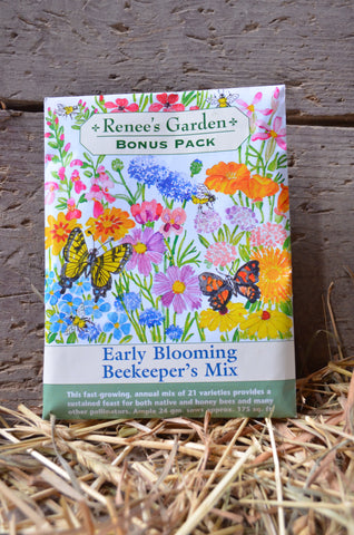 Gardening - Early Blooming Beekeeper's Mix