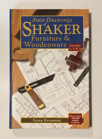 Book: Shop Drawing of Shaker Furniture & Woodenware