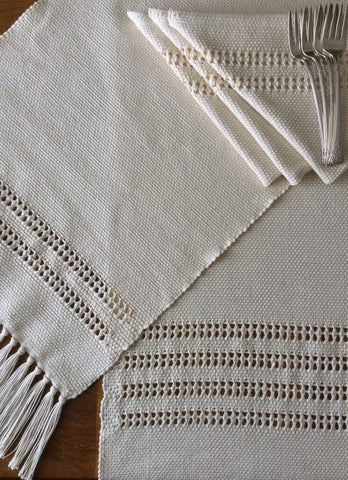 AD - Handwoven Table Runner 36""