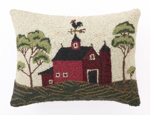 Hook Pillow Barn
