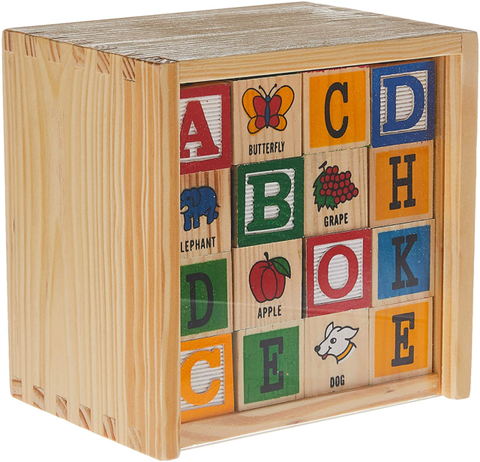 A - ABC Blocks