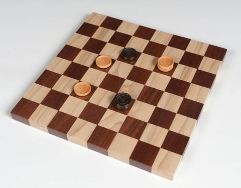 Board Game: Checkerboard and Checkers