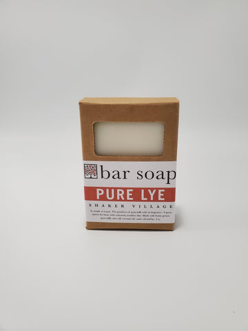 H - Lye Bar Soap