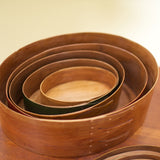Wood Oval Boxes