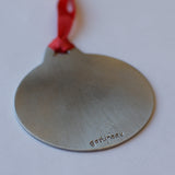 Tis a gift to be Simple Pewter Ornament
