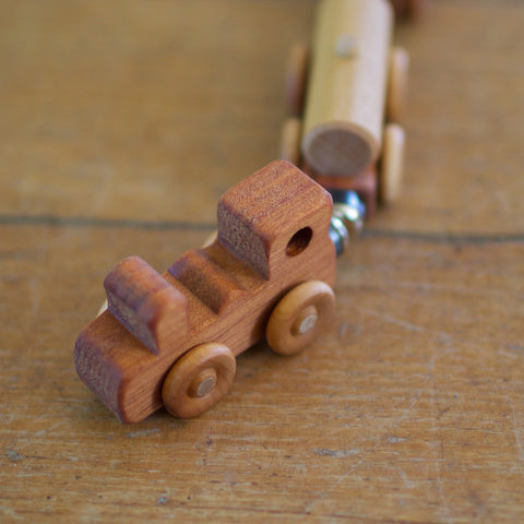 A - Wooden Train