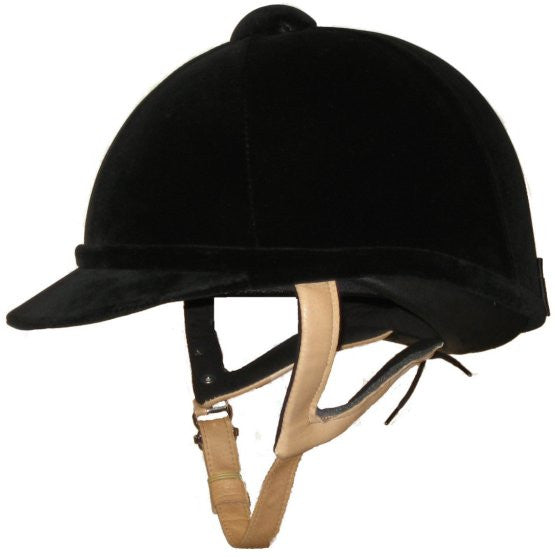 Charles Owen Wellington Classic Riding Helmet