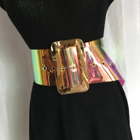 WIDE WAISTBAND BELT