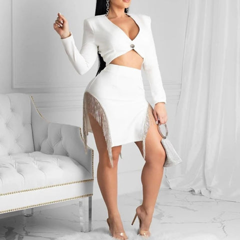 CHIC WHITE 2 PIECE