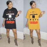 REAL TSHIRT DRESS