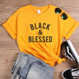BLACK AND BLESSED TSHIRT