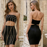 CHAIN BANDAGE 2 PIECE
