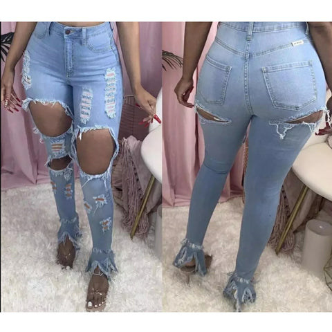 BLUE SHE DID IT DENIM