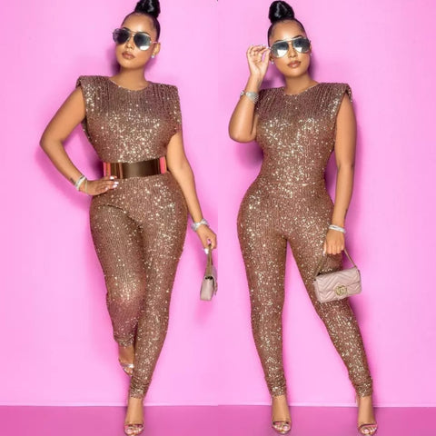 SHOW GIRL JUMPSUIT (Plus Size Available)