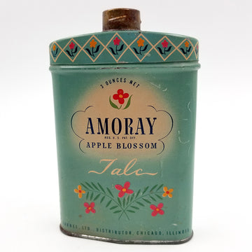 Amoray Apple Blossom Talc