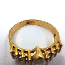 EDCO Gold Tone Cocktail Ring