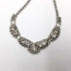 vintage bridal necklace rhinestone