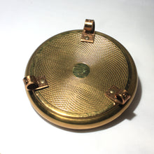 Vintage Brass Ring Casket / Trinket Box