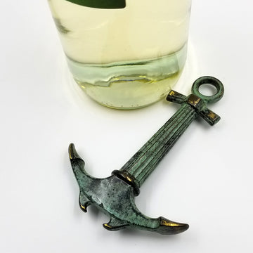 Nautical Anchor Cork Screw