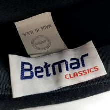 Vintage Betmar Classics Black Wool Pillbox Hat