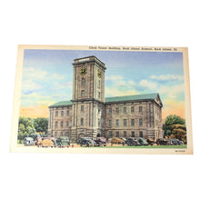 Rock Island Arsenal Clock Tower Postcard, Illinois Collectibles