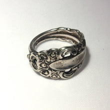 Silverplate, Spoon Ring, Scrollwork Design, Flourishes, Hip