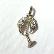 Sterling Silver Palm Tree Charm, Tropical