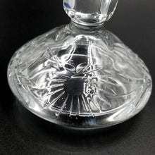 Lead Crystal Covered Trinket Dish / Candy Dish