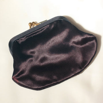 Dark Royal Blue, Coin Purse, Change Purse, Vintage Coin Purse, Cloth Coin Purse, Purse Accessory