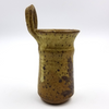 Brown Pottery Wall Mount Matchstick Holder / Kitchen Decor