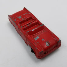 Red Ford Convertible Tootsie Toy Car