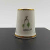 collectible J Collins thimble
