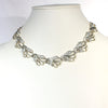 vintage sarah coventry mixed metal wave necklace