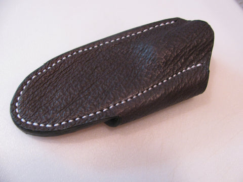 Shark Skin Cross Draw Knife Sheath
