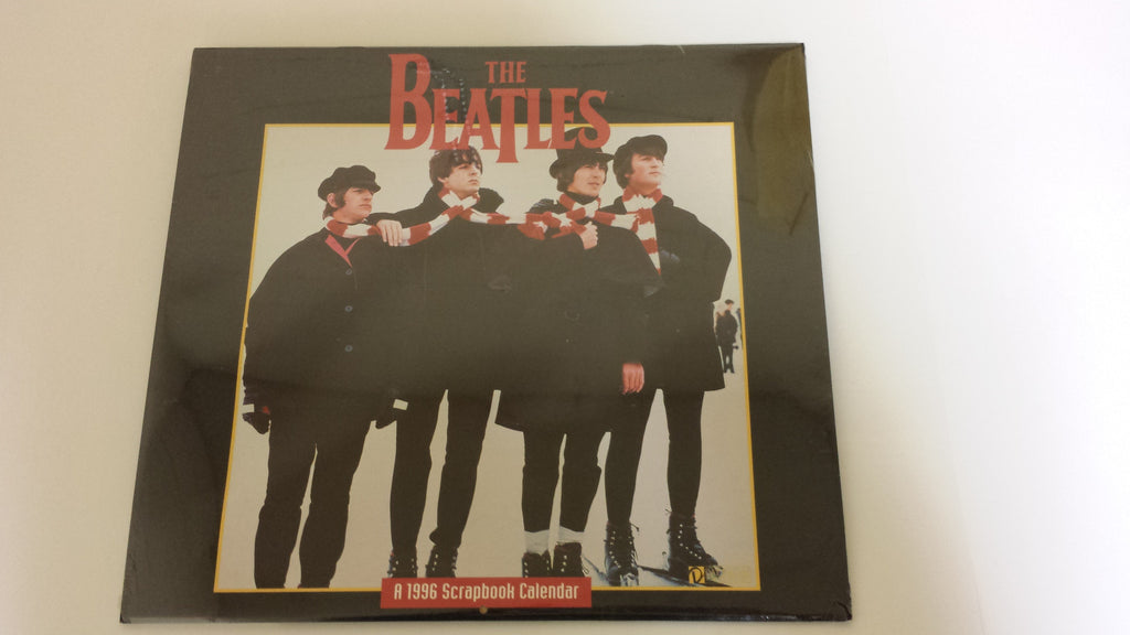 "The Beatles ""A 1996 Scrapbook Calendar"""