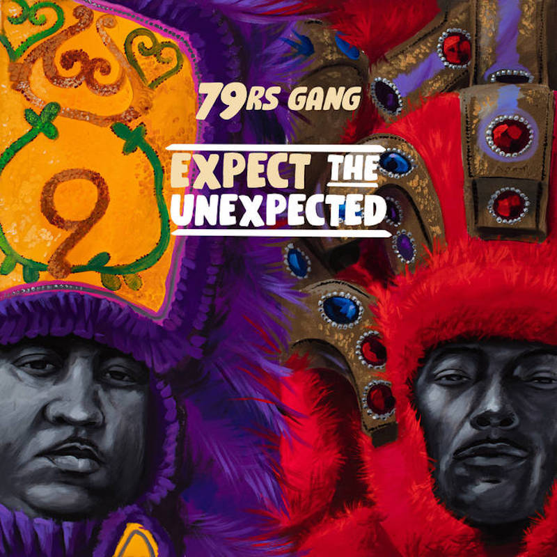 79RS GANG 'EXPECT THE UNEXPECTED' LP (VINYL)