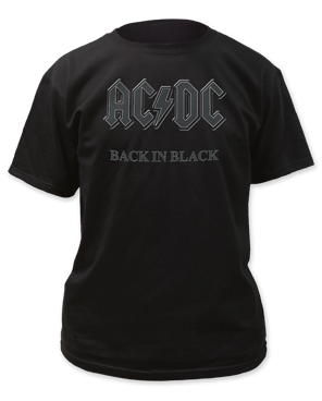 AC/DC 'BACK IN BLACK' TEE
