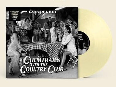 "LANA DEL RAY ""CHEMTRAILS OVER THE COUNTRY CLUB"" LIMITED EDITION INDIE-EXCLUSIVE YELLOW VINYL"