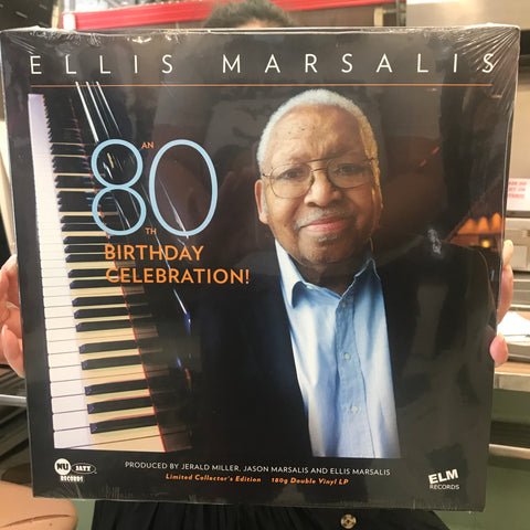 ELLIS MARSALIS '80TH BIRTHDAY CELEBRATION' LP (2 DISC SET)