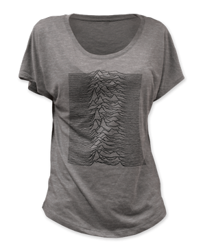 JOY DIVISION 'UNKNOWN PLEASURES' LADIES TEE