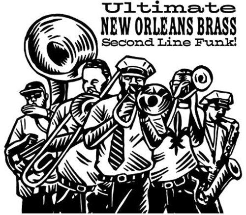 ULTIMATE NEW ORLEANS BRASS BAND (LP)